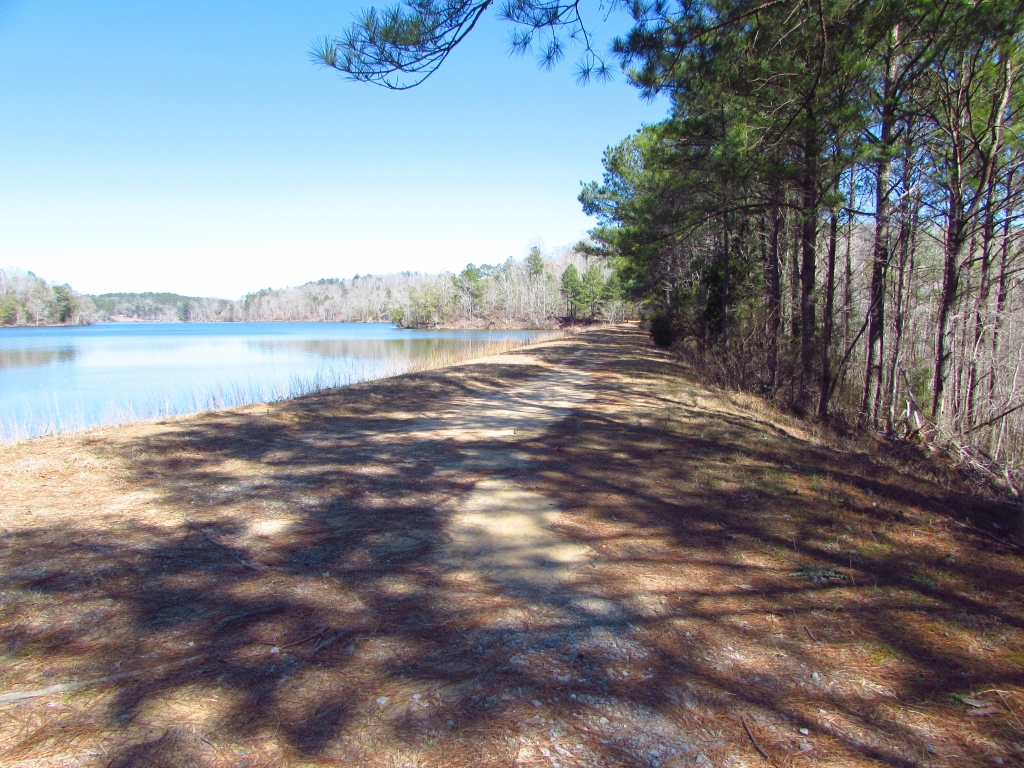 Lake Lurleen hiking Alabama