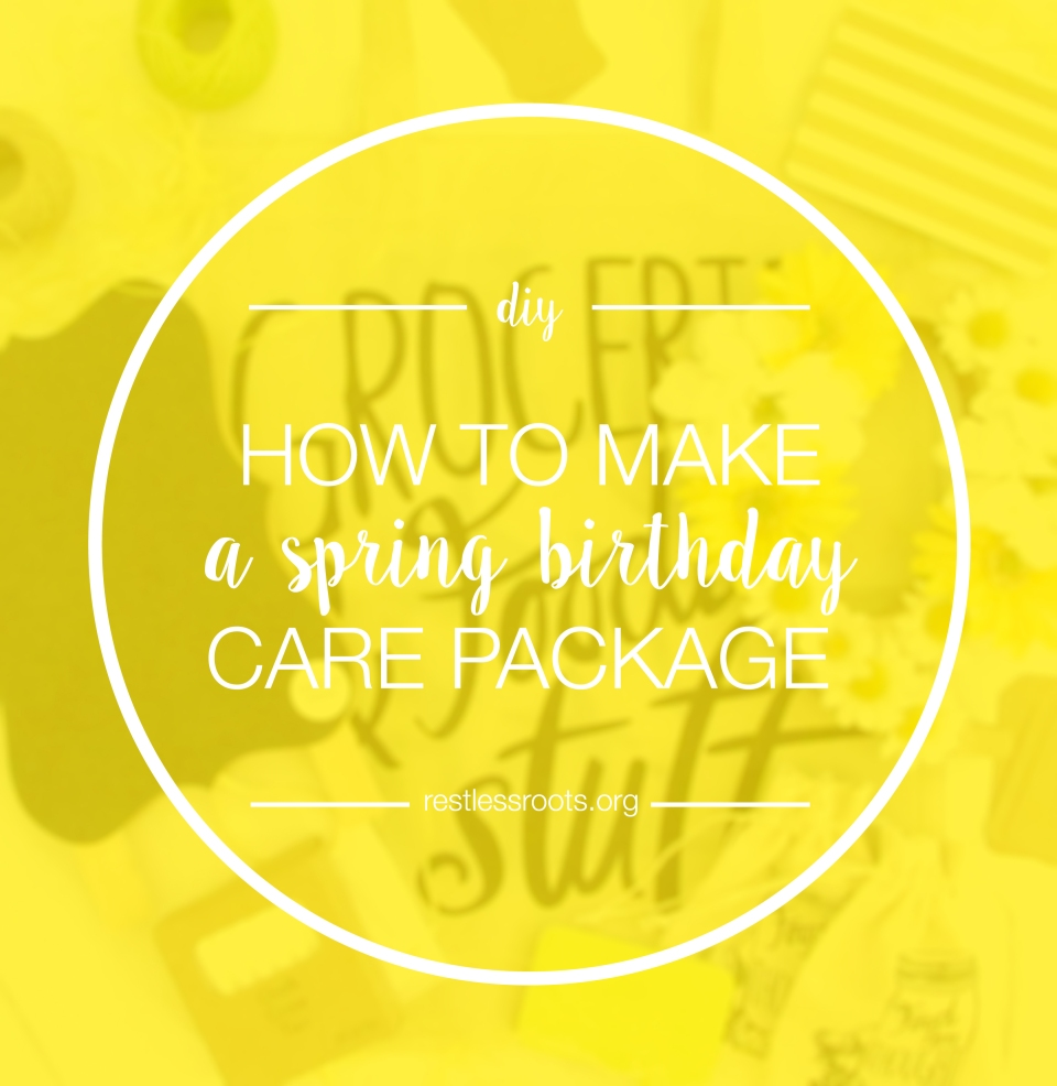Mothers Birthday Care Package Feature